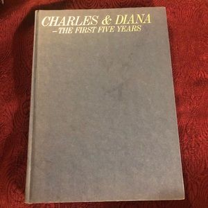 FIRST FIVE YEARS  DIANA & CHARLES PHOTO BOOK